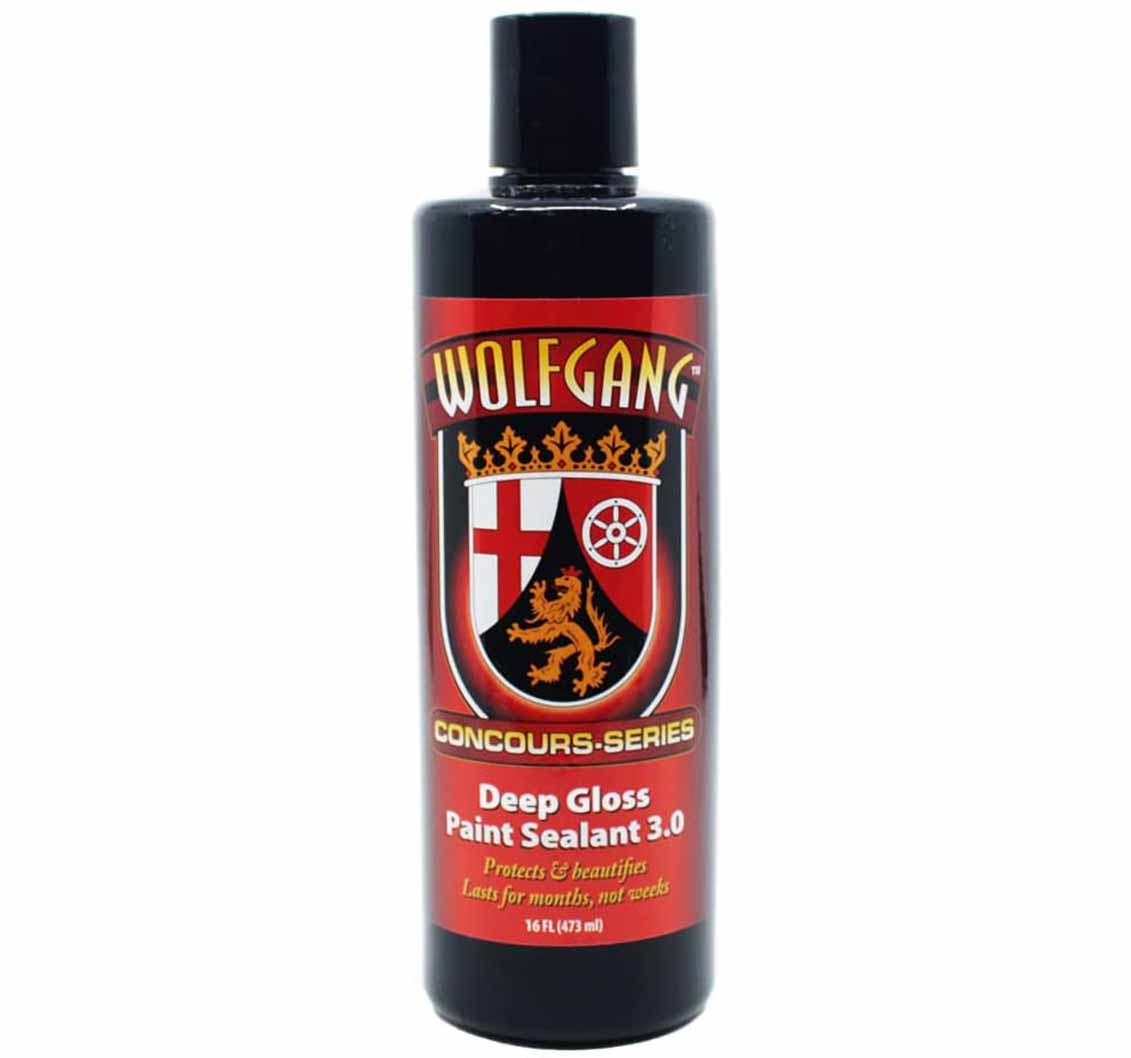Black High Gloss Paint Sealant By Wolfgang Concours WG-5500