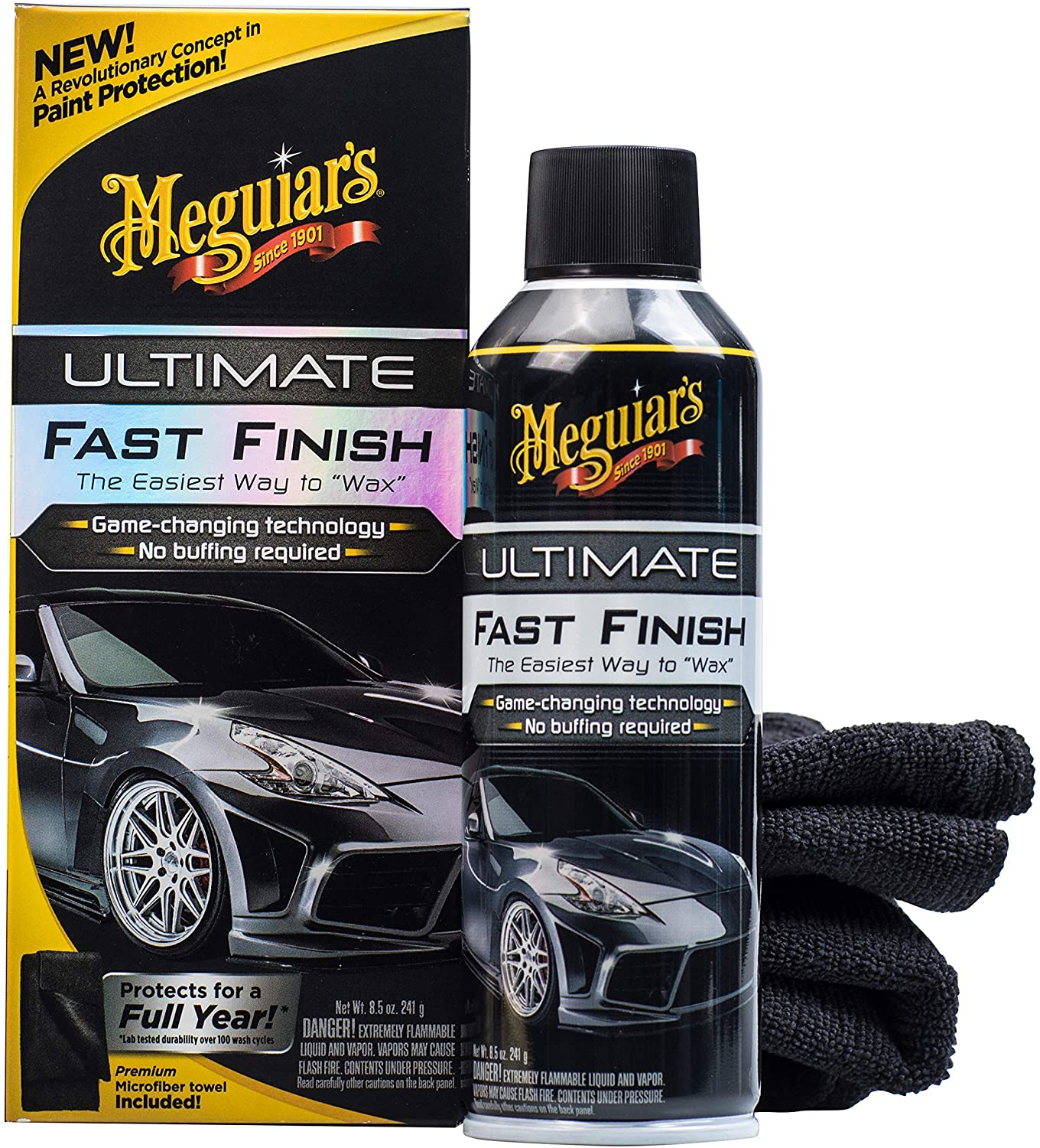 Polymer Based Sealant For Black Cars By Meguiars G18309